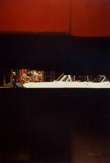 Saul Leiter, Through Boards, ca 1957